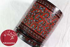 Japonais Boite LACQUERWARE WOOD Box Traditional Japanese Kyoto Style TISSUE BOX