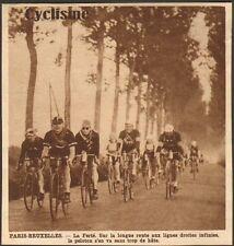 LA FERTE COURSE CYCLISTE PARIS-BRUXELLES 1928