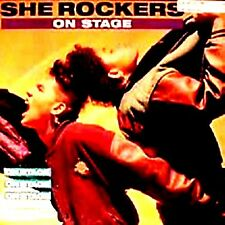 """12"""" - She Rockers - On Stage / Get Up On .. (HIP HOP, RAP) NUEVO - NEW, LISTEN"""