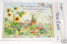 8 Judy Buswell Leanin Tree Note Cards Psalms 118:24 This Is The Day The LORD Has