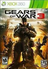 Gears of War 3 (Xbox 360, 2011) game disc only !
