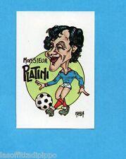 MEXICO 1986-LAMPO/FLASH-Figurina n.66- PLATINI - CARICATURA -Recuperata