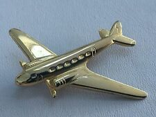 Vintage WWII Era Aircraft Stamped Lapel Pin Sweetheart Brooch US Army Air Corps