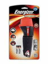 Energizer Impact Rubber LED Torch Weatherproof 40hr 45 Lumens Includes 2AA Batts