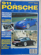 911 & Porsche World Jul/Aug 1994 Techart Speester, 911