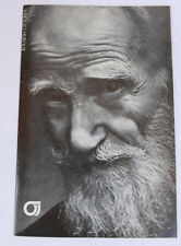 "VINTAGE 1969 GEORGE BERNARD SHAW'S  ""HEARTBREAK HOUSE"" CHICAGO PLAYBILL"