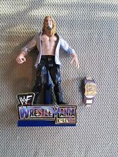 WWE CHRIS JERICHO WITH BELT  2001 WRESTLEMANIA X-SEVEN LIMITED EDITION (LOOSE)