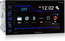 """Pioneer AVH-180DVD Double DIN In-Dash DVD Car Stereo Receiver w/6.2"""" Touchscreen"""