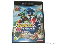 ## Sonic Riders DEUTSCH Nintendo GameCube Spiel // GC & Wii - TOP ##