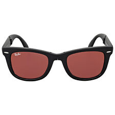 Ray Ban Wayfarer Folding Flash Red Mirror Sunglasses RB4105 601S2K 50