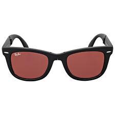 Ray Ban Wayfarer Folding Flash Red Mirror Sunglasses RB4105 601S2K 50