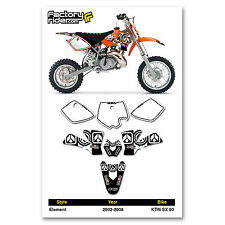 2002-2008 KTM SX 50 Dirt Bike Graphics kit Motocross Graphics Decal Enjoy Mfg