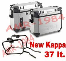 KIT 2 KOFFER KVE37 ALLU + CHASSIS BMW R 1200 GS ADVENTURE 2006 - 2013 + PL685