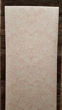 classic Antonina Vella Arts Crafts Soft Pink and Cream gold accents Wallpaper