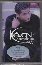 KEVON EDMONDS - 24/7 rare (1999) OOP Cassette NEW