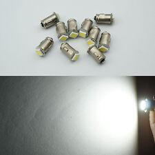 10x Ba7s LLB282 1 LED DASHBOARD WARNING SWITCH BULB 12v-White color