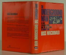 ROSS MACDONALD The Underground Man INSCRIBED FIRST EDITION
