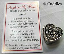 Angel In My Heart Prayer Box  Charms Ganz Metal Religious Religious New S