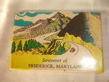 Collectible Souvenir Of Frederick, Maryland Pocket Mirror Mountains Road