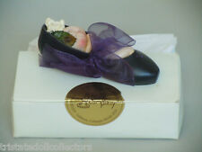 "Rare KISH & Co ""LADY SLIPPER"" DOLL Infant in the Shoe 4.25"" CONVENTION UFDC?_MIB"