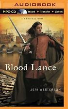 A Crispin Guest Medieval Noir: Blood Lance 5 by Jeri Westerson (2015, MP3 CD,...