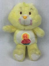 "Vintage 1983 Birthday Care Bears 13"" Yellow American Greeting Kenner Cupcake"