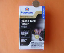 PLASTIC TANK REPAIR KIT FOR CAR TRUCK BOAT + WATER TANKS PERMATEX OHIO USA