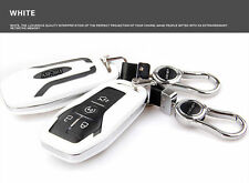 White Car Remote Smart FOB Key Cover Bag Shell For Ford Taurus Explorer Mustang