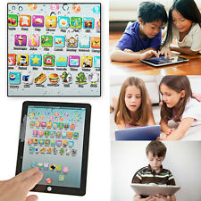 New English Learning Educational Tablet Touch Computer Pad Game For Child Kids