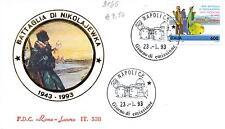 Repubblica Italiana 1993 FDC Roma Incontro di Pace tra Reduci