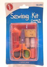Sewing Kit With Box Compact Travel Home Office Outdoors Disaster Kits SE SK1288
