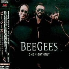 One Night Only by Bee Gees (CD, Oct-1998, PO Records (Japan))