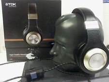 TDK ST 800 Life on Record High Fidelity Super Quality Over Ear Headphones Black