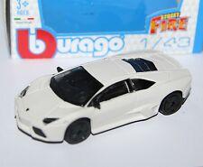 Burago - LAMBORGHINI REVENTON (White) - 'Street Fire' Model 1:43