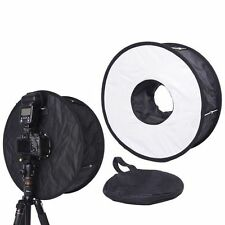 45CM Macro Ring Flash SoftBox Diffuser for Canon 600EX-RT 580EX II 430EX 420EX
