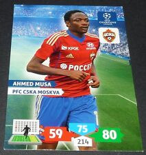 AHMED MUSA CSKA MOSCOU UEFA PANINI FOOTBALL CHAMPIONS LEAGUE 2013 2014