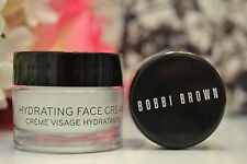 BOBBI BROWN HYDRATING EYE CREAM .23oz. & HYDRATING FACE CREAM 0.5 oz. NEW!