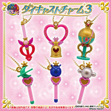 6 pc Set Bandai Sailor Moon Diecast Charm Vol 3 KeyChain Gashapon Toy USA SELLER