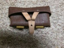 SKS stripper clip leather pouch excellent condition VZ AK WASR 7.62X39