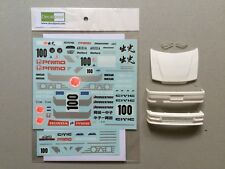 1/24 Honda CIVIC EF9 Idemitsu Oil '90 Decal & Transkit for Aoshima Beemax EF3