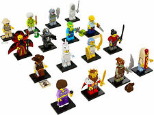 NEW LEGO 71008 Complete Set of 16 MINIFIGURE​S SERIES 13
