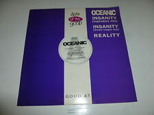"OCEANIC - Insanity (Legendary Mix) - 1991 UK 3-track 12"" Vinyl Single"