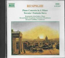 CD album: Respighi: Piano Concerto in A Minor. Howard Griffiths. naxos. M