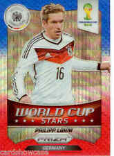 2014 World Cup Prizm World Cup Stars Blue Red Wave No.19 P. Lahm (Germany)