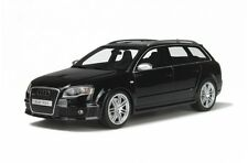 Audi a4 rs4 RS 4 b7 Avant coche familiar Quattro negro Otto nuevo New resin 1:18