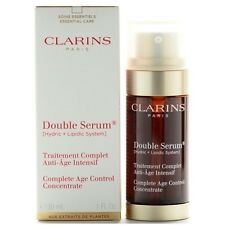 Clarins DOUBLE SERUM 1.0 oz Complete Age Control Concentrate 30 ml Unisex NIB