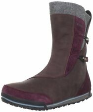 TEVA Haley WATERPROOF Fleece INSULATED Winter RAIN Snow LEATHER wp BOOT Women sz