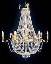 Lampadario Cristallo Lampadario altezza 120xb80cm Lampada Lampadario