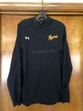 Under Armour Women's Detroit Tigers 1/4 Zip Jacket Black Size M MSRP $59.99