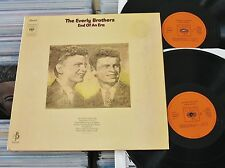 The Everly Brothers - DoLP (VG+) End Of An Era (2 LP's) CBS Holland 1970 FOC